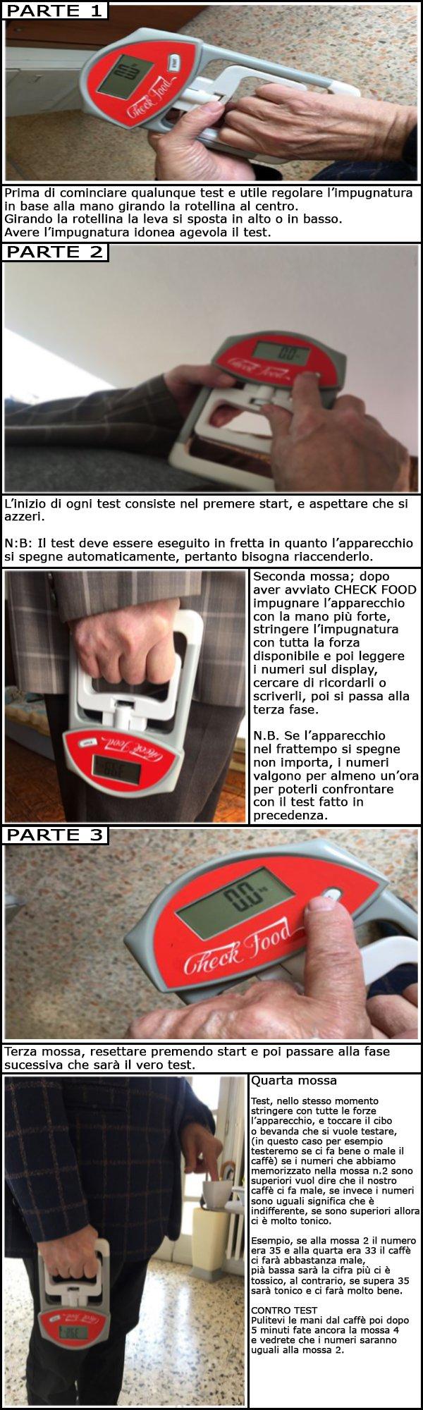 manuale CHECK FOOD